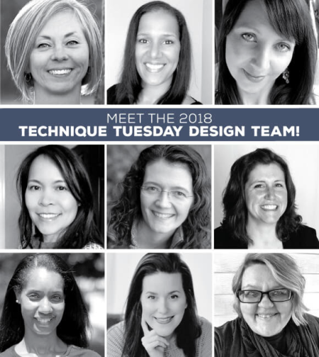 Technique Tuesday Design Team // TechniqueTuesday.com