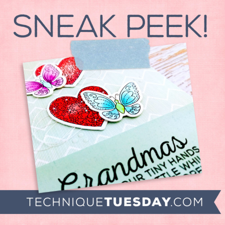 Clear stamps and crafting dies from Technique Tuesday // TechniqueTuesday