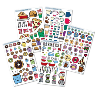 Planner Stickers from Technique Tuesday // TechniqueTuesday.com