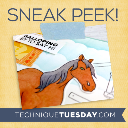 A Technique Tuesday Sneak Peek || TechniqueTuesday.com