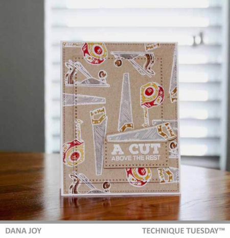 Father's Day Card Inspiration from Technique Tuesday || TechniqueTuesday.com
