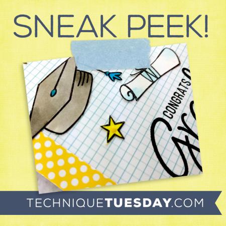 A sneak peek from Technique Tuesday || TechniqueTuesday.com