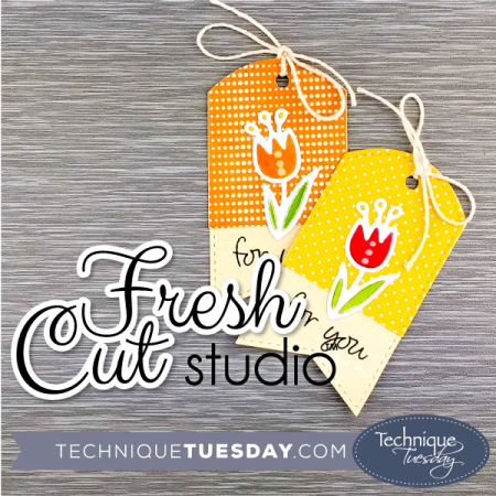 Fresh Cut Studio Crafting Dies from Technique Tuesday || TechniqueTuesday.com