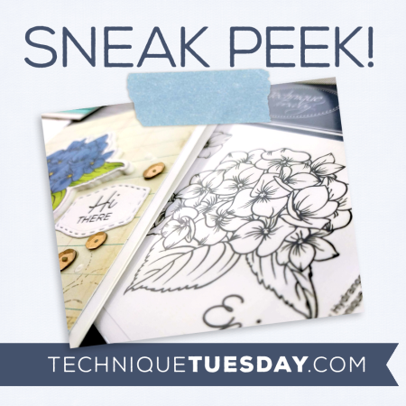 July release sneak peek from Technique Tuesday