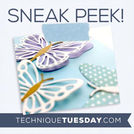 July release sneak peek from Technique Tuesday