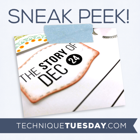 September Sneak Peek from Technique Tuesday