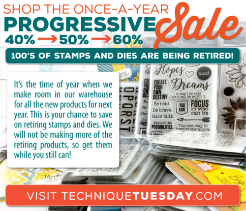 Stamps and Crafting Dies from Technique Tuesday | TechniqueTuesday.com