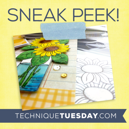 Stamp sets and crafting dies from Technique Tuesday | TechniqueTuesday