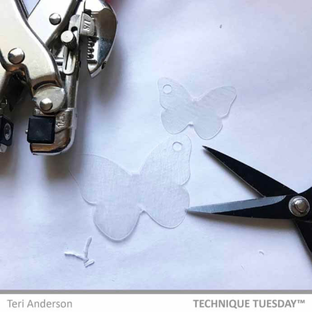 Make Your Own Butterfly Clips Tutorial | TechniqueTuesday.com