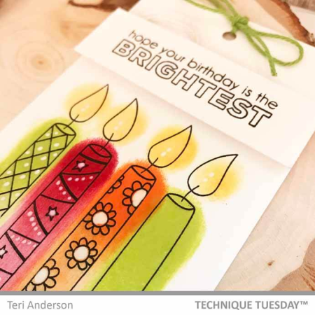 BrightestBirthdayCandlesTag-Close-TeriA-TechniqueTuesday