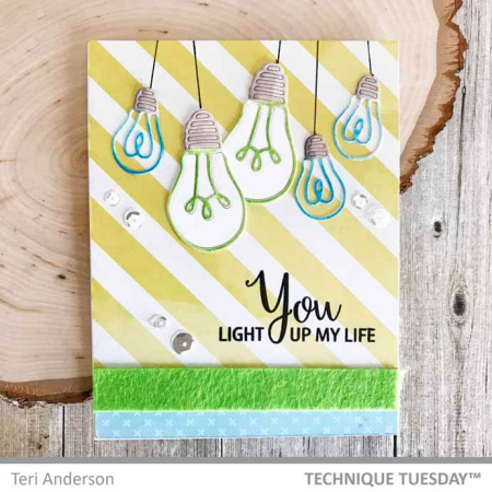 HangingYouLightUpMyLifeCard-Teri-TechniqueTuesday