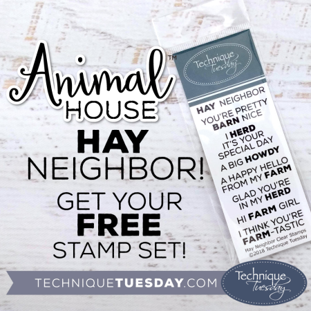 Animal Stamp Sets from Technique Tuesday