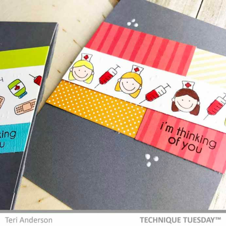Get Well Planner Medical Cards by Teri for Technique Tuesday