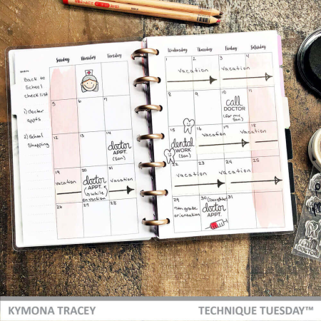 Techinque-Tuesday-Medical-Planner-Kymona-Tracey_2